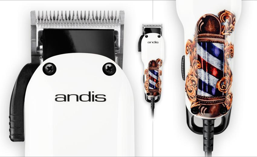 Andis Fade Barber Pole con cuchilla fade cortapelos degradados