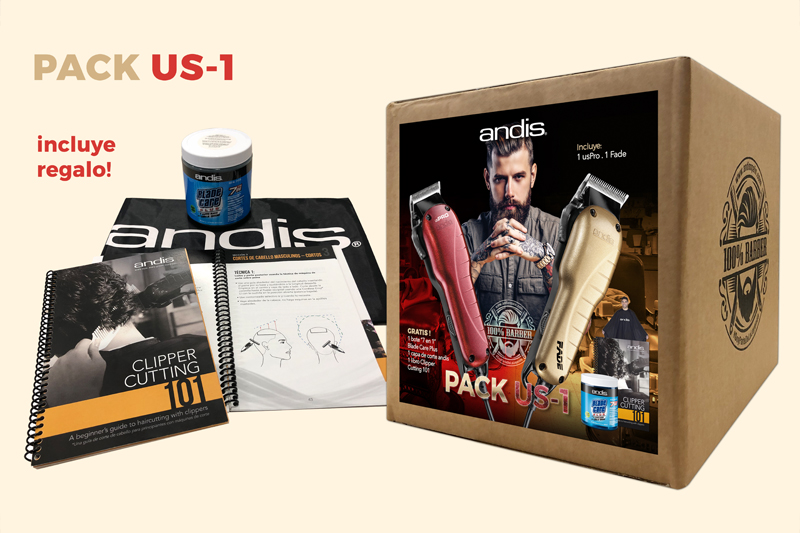 andis pack USPRO FADE US-1