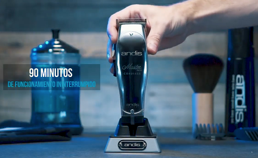 clippers andis video master cordless
